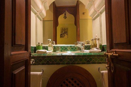 Riad Al Badia : Emeraude standard double room