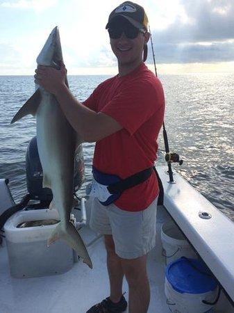 Morningstar Marina at Golden Isles - Boat Rentals: Craig's first shark