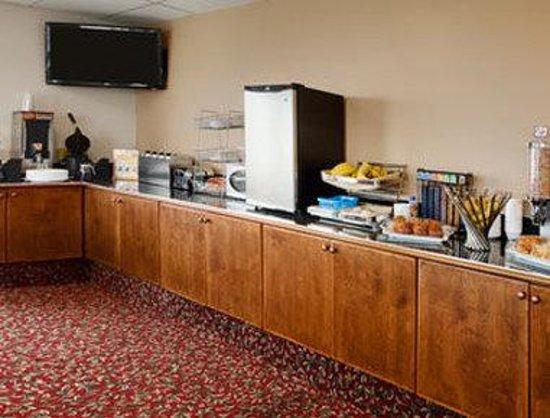 Days Inn Kamloops BC: Breakfast Setup