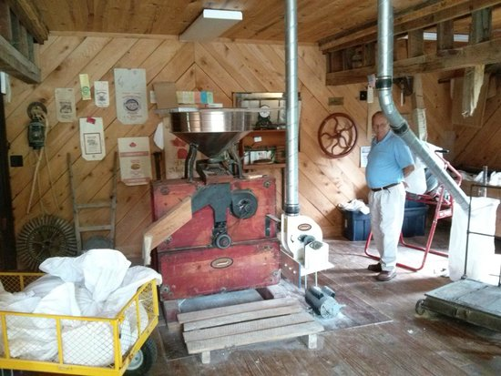 Parks Mill Barbecue: Inside the mill