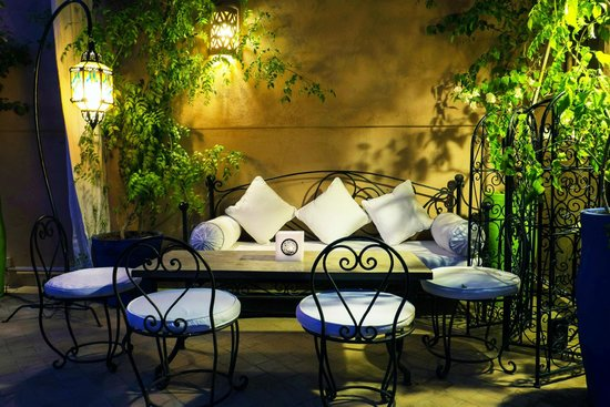 Riad Al Badia: Lounge on the terrace