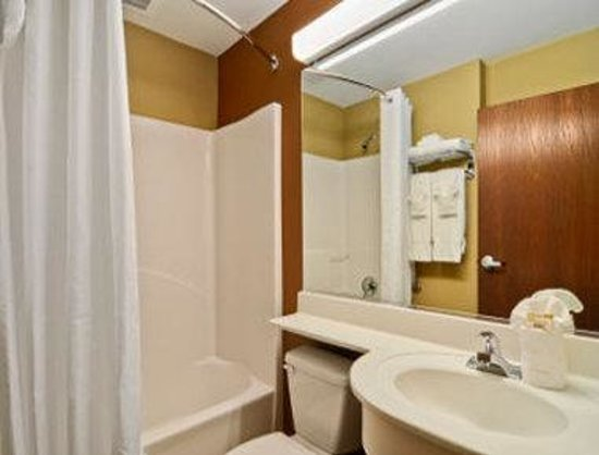 Microtel Inn & Suites by Wyndham Buda at Cabela's : Bathroom