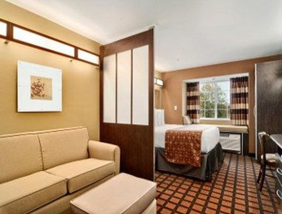 Microtel Inn & Suites by Wyndham Buda at Cabela's : Guest Room Sitting Area