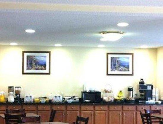 Days Inn Greensboro NC: Breakfast Area