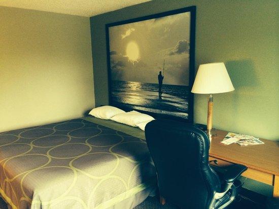 Super 8 Pulaski: room