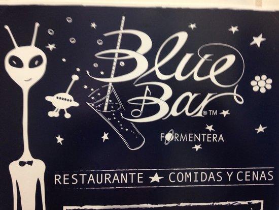 Blue Bar Formentera: Blue bar