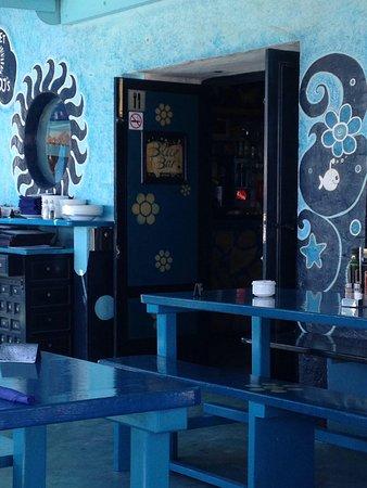 Blue Bar Formentera: Location