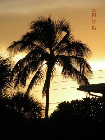 Bon Aire Resort: sunrise