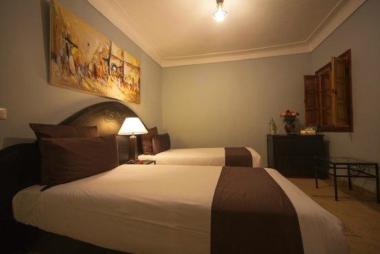Riad Al Badia : Amber standard twin room