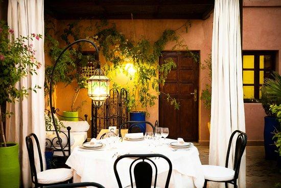 Riad Al Badia: La Table Al Badia on the Terrace