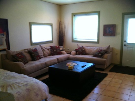 Solace on the Mountain Bed & Breakfast: Lounge (couches super comfy)