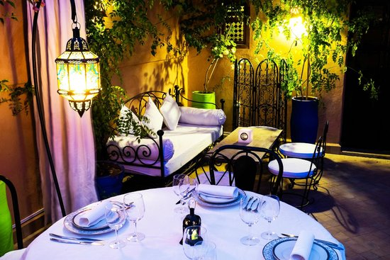 Riad Al Badia : La Table Al Badia Lounge on the Terrace