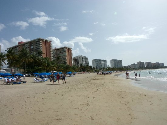 InterContinental San Juan: beach area