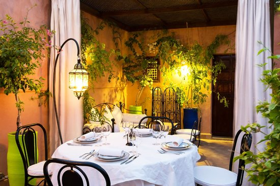 Riad Al Badia : La Table Al Badia on the Terrace