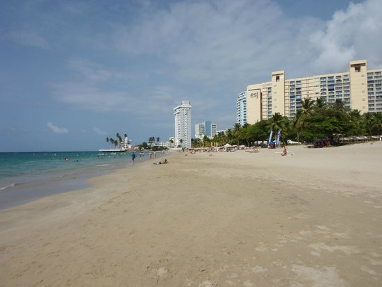 InterContinental San Juan: beach