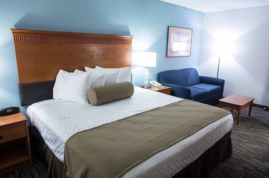 Best Western Plus Dayton South: King Guest Room