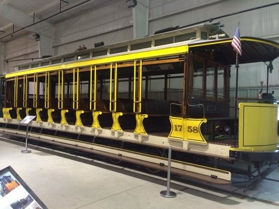 Pennsylvania Trolley Museum: one of the many trolleys you can see here