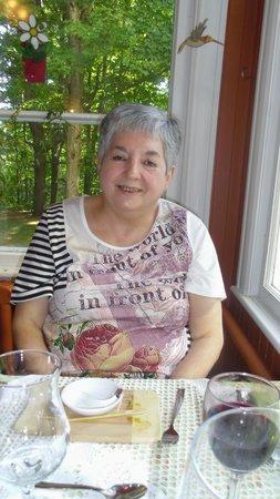 Au Clos Rolland, Couette & Café : Ma femme a savourée son souper