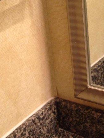 Sonesta ES Suites Somers Point : Wallpaper in bathroom
