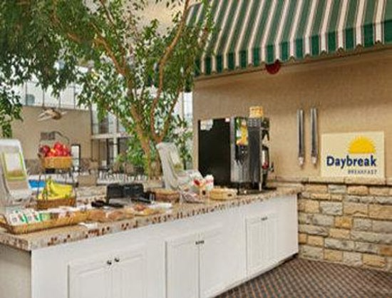Days Inn Columbus Airport: Breakfast Area