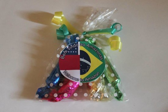 Rei Salomao Hotel: Cute little welcome package