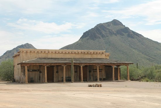Old Tucson: high chaparral ranch