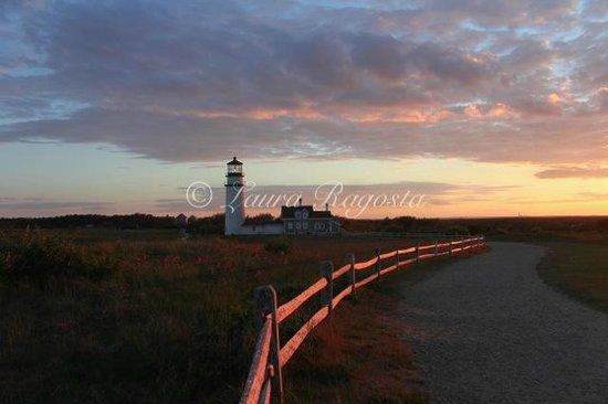 Highland Light : sunset