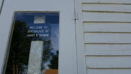 Harry S Truman Birthplace State Historic Site : The house