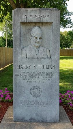 Harry S Truman Birthplace State Historic Site : The memorial
