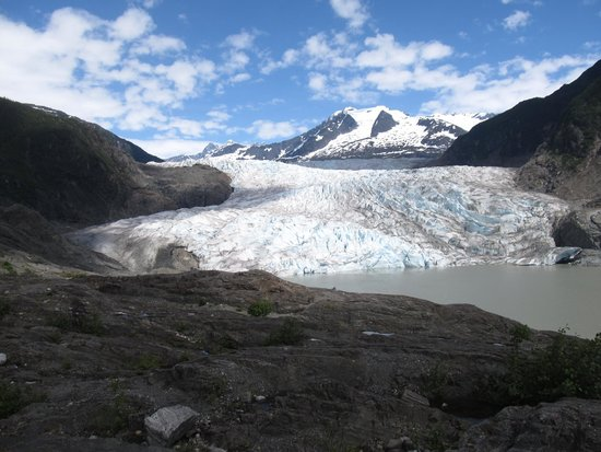 Above & Beyond Alaska : Approaching the Mendenhall Glacier