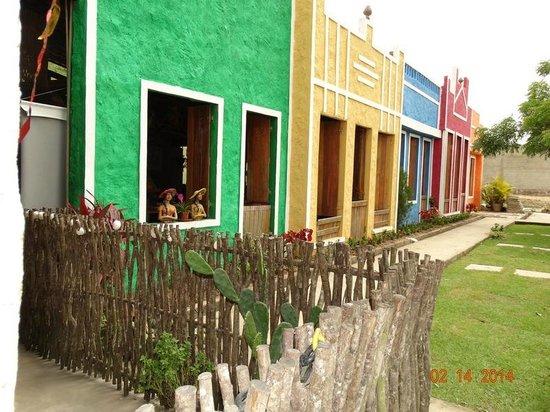 Vitória de Santo Antão, PE: Fachada do Restaurante