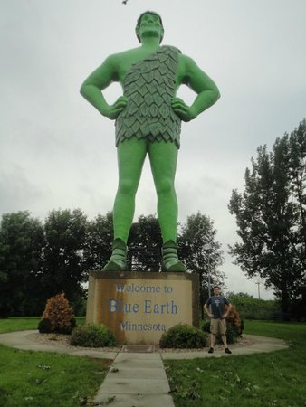 Green Giant Statue Park: The Big Man