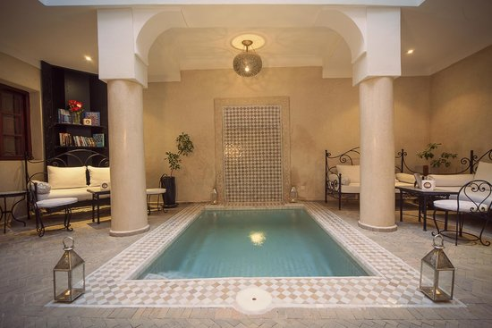 Riad Al Badia : Refreshing pool