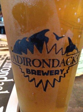 Adirondack Pub & Brewery: mmm, house brew