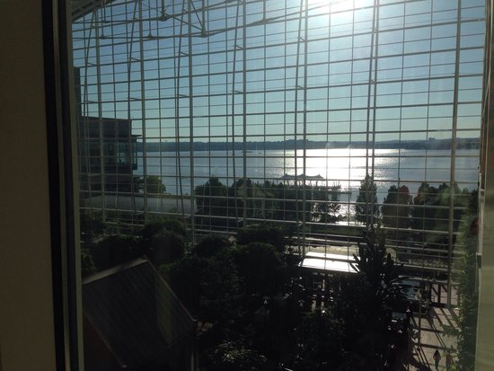 Gaylord National Resort & Convention Center: The huge atrium is a great place to hang out.