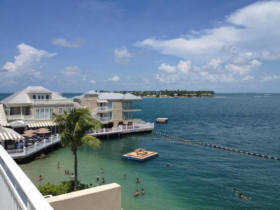 Pier House Resort & Spa : amazing view from Hemmingway room