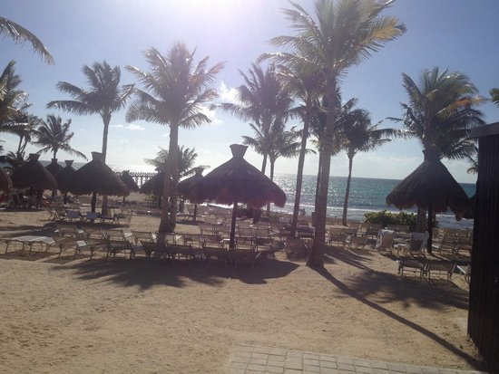 Mayan Palace Riviera Maya : Beach access