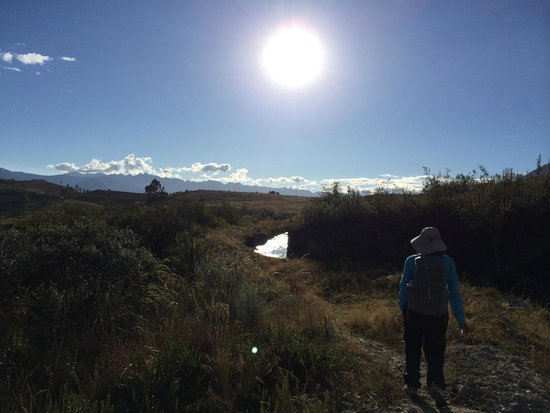 Llanganuco Mountain Lodge: On our way back from LLanganuco Lakes.