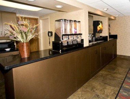 Days Inn Duluth Lakewalk: Breakfast Area