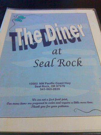 Seal Rock, Oregón: Menu