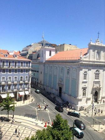 "Bairro Alto Hotel : View from our 4th floor ""Juliet window"" view"