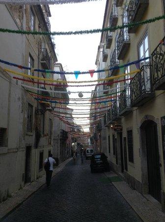Bairro Alto Hotel: Street nearby with restaurants/bars