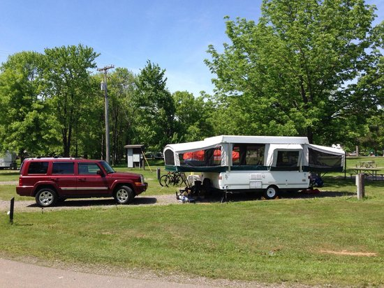 Pymatuning State Park: Jamestown Campground Site 623
