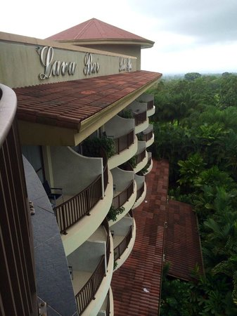 The Royal Corin Thermal Water Spa & Resort : Hotel balconies