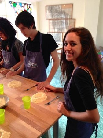 A Cooking Day In Rome: Making pasta
