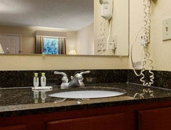 Baymont Inn & Suites Roanoke Rapids: Bathroom