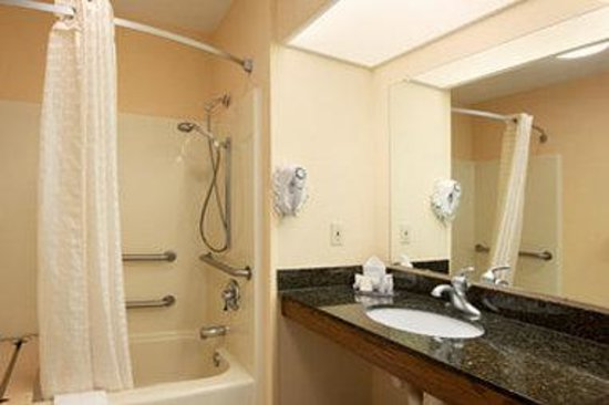 Baymont Inn & Suites Duncan/Spartanburg : Accessible Bathroom