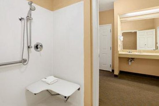 Baymont Inn & Suites Martinsville: Accessible Bathroom