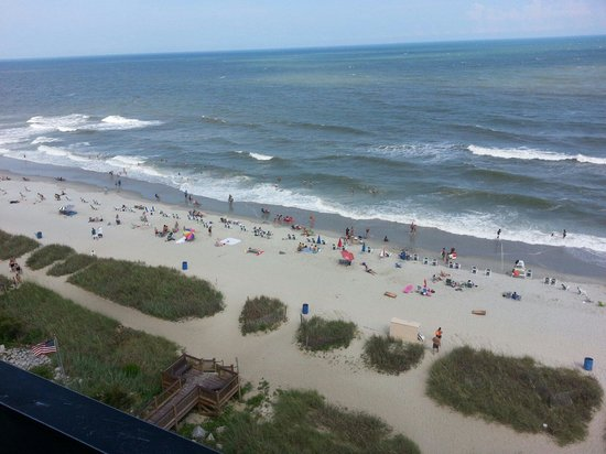 The Reef at South Beach: The view from the 9th floor balcony