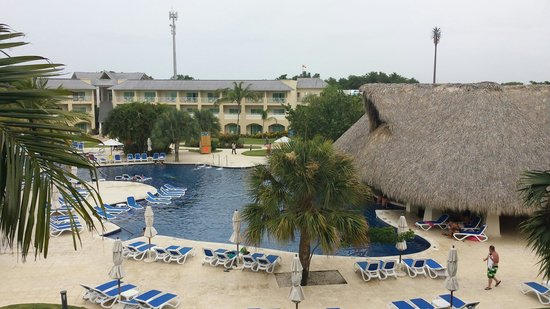 Memories Splash Punta Cana : Vista desde el cuarto...